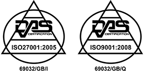 DAS ISO 9001 and ISO 27001